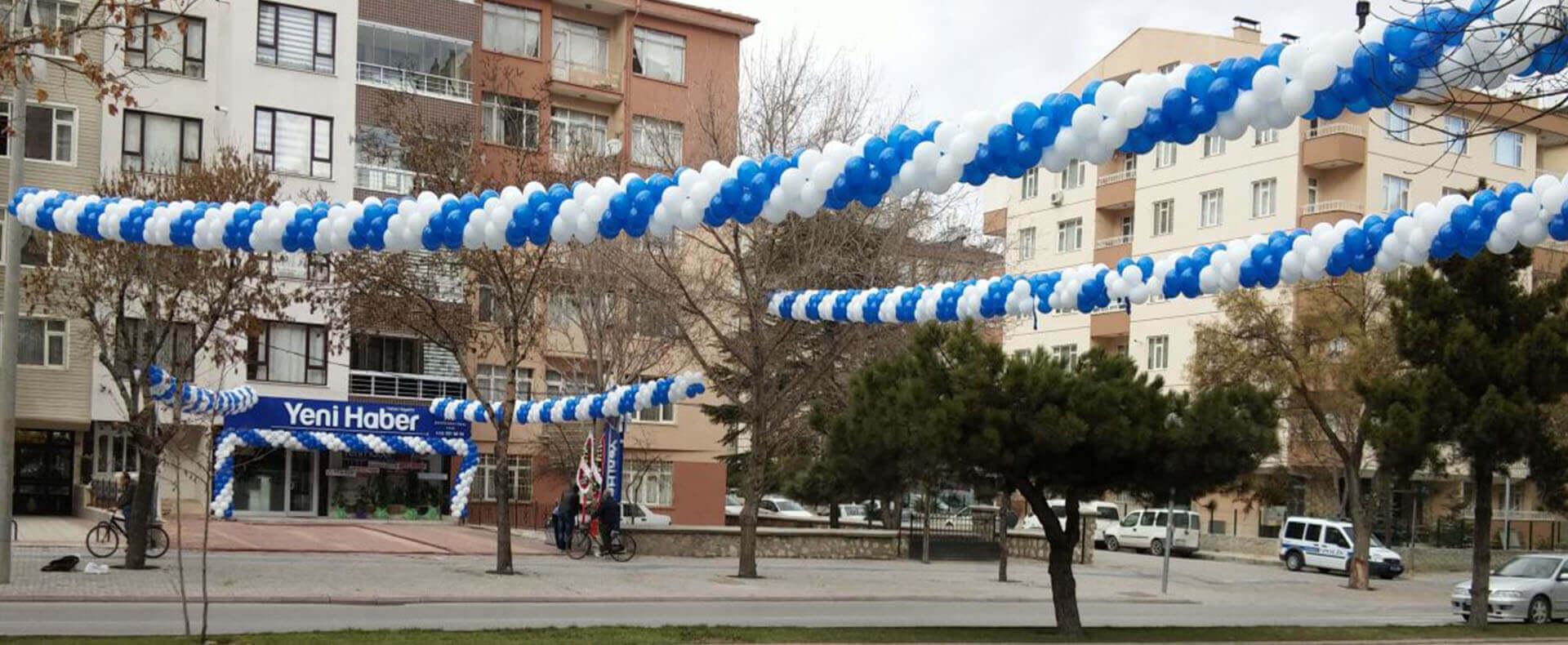Kutlugün Organizasyon Açılış Düğün Sünnet Festival Organizasyonu, Balon Süslemesi, Uçan Balon